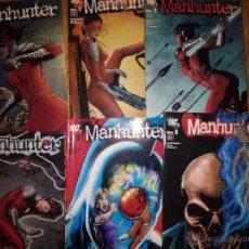 Cómics: MANHUNTER LOTE DE 6 NUMEROS DEL 1 AL 6 PLANETA VALORADO . Lote 48443411