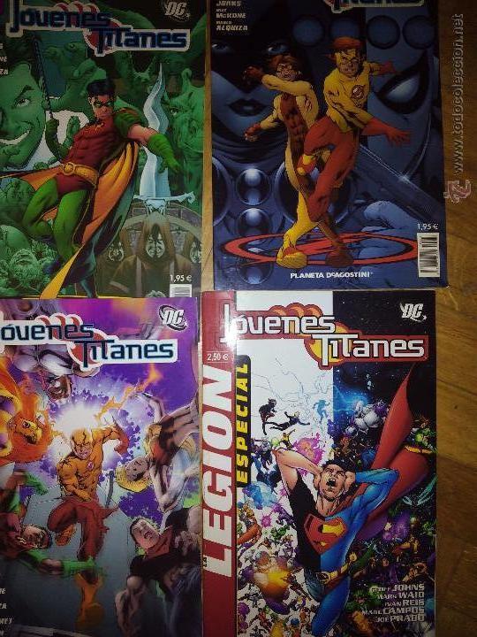 JOVENES TITANES LOTE DE 4 COLECCION PLANETA 4 5 Y 15 Y LA LEGION ESPECIAL (Tebeos y Comics Pendientes de Clasificar)