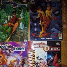 Cómics: JOVENES TITANES LOTE DE 4 COLECCION PLANETA 4 5 Y 20 Y LA LEGION ESPECIAL. Lote 48443402