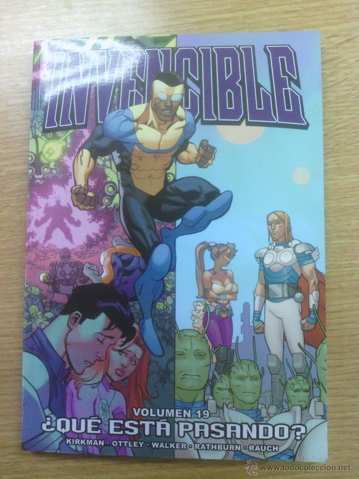 INVENCIBLE #19 QUE ESTA PASANDO (ALETA) (Tebeos y Comics - Comics otras Editoriales Actuales)