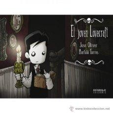 Cómics: CÓMICS. EL JOVEN LOVECRAFT 04 - JOSE OLIVER/BARTOLO TORRES. Lote 187165597