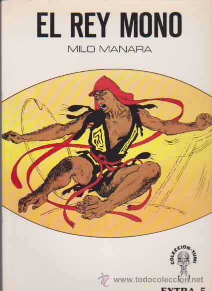 EL REY MONO - MILO MANARA - COLECCIÓN TUMI / EXTRA 5 1981 - 400 PTS. (Tebeos y Comics - Comics Colecciones y Lotes Avanzados)