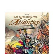 Cómics: CÓMICS. LOS SUPERVIVIENTES DEL ATLANTICO 01: EL SECRETO DE KERMADEC - JEAN-YVES MITTON (CARTONÉ). Lote 92480614