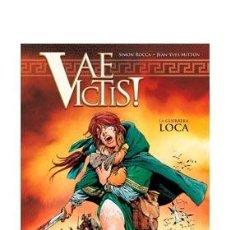 Cómics: CÓMICS. VAE VICTIS! INTEGRAL 02. LA GUERRERA LOCA - SIMON ROCCA/JEAN-YVES MITTON (CARTONÉ). Lote 140793662