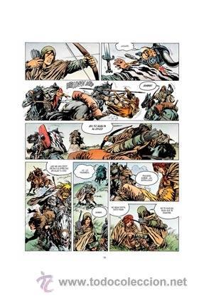 Cómics: Cómics. VAE VICTIS! INTEGRAL 02. LA GUERRERA LOCA - SIMON ROCCA/JEAN-YVES MITTON (Cartoné) - Foto 2 - 140793662
