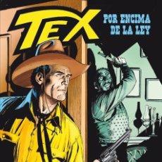 Cómics: CÓMICS. TEX: POR ENCIMA DE LA LEY - CLAUDIO NIZZI/VÍCTOR DE LA FUENTE (CARTONÉ). Lote 190884776