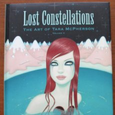 Cómics: LOST COSTELLATION. THE ART OF TARA MCPHERSON.. Lote 48820500