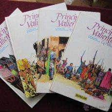 Cómics: PRÍNCIPE VALIENTE. 4 ÁLBUMES TAPA DURA. COMPLETA BURULAN. HAROLD FOSTER. BURU LAN, 1983. TEBENI MBE. Lote 48823570