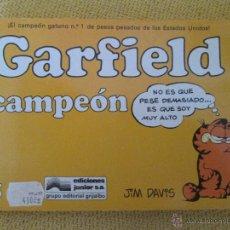 Cómics: GARFIELD DE JIM DAVIS NUMERO 5: CAMPEÓN. Lote 48856398