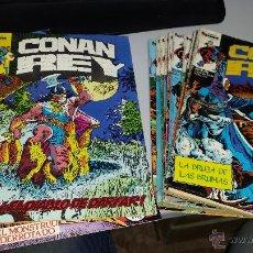 Cómics: CONAN REY ¡ LOTE 27 NUMEROS ! FORUM. Lote 19689040