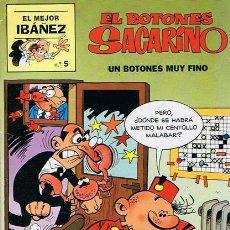 Cómics: CÓMIC EL BOTONES SACARINO Nº 5. Lote 48886362