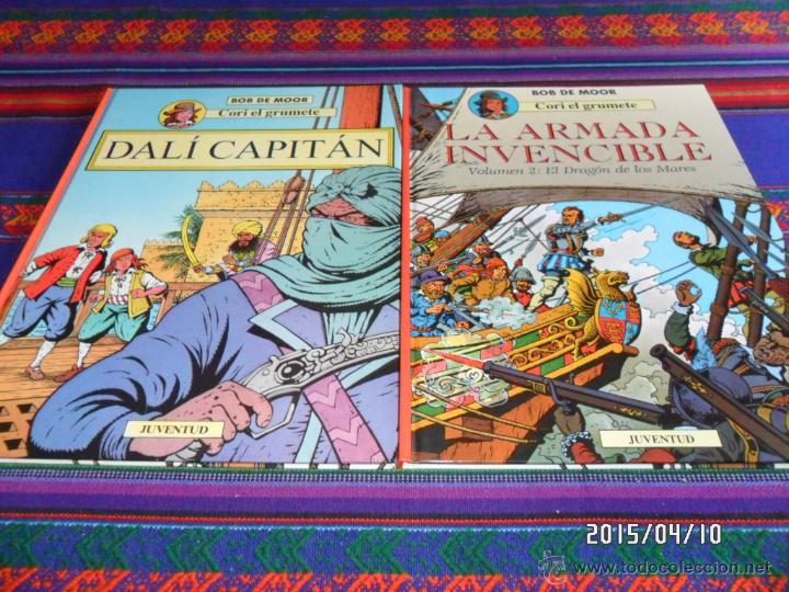CORI EL GRUMETE 1 2 3 5 ED. JUVENTUD 1989 1ª ED. BOB DE MOOR. DRAGÓN MARES CAPITÁN DALÍ EXPEDICIÓN.. (Tebeos y Comics - Comics Colecciones y Lotes Avanzados)