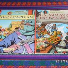 Cómics: CORI EL GRUMETE 1 2 3 5 ED. JUVENTUD 1989 1ª ED. BOB DE MOOR. DRAGÓN MARES CAPITÁN DALÍ EXPEDICIÓN... Lote 16458578
