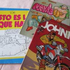 Cómics: LOTE 3 COMICS-EL JUEVES-2 PENDONES DEL HUMOR+1 COLECCIÓN TITANIC-VER FOTOS.. Lote 49005603