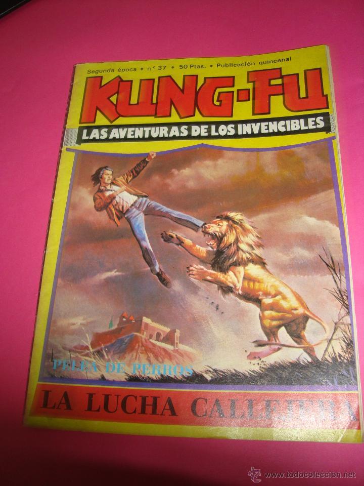 COMIC KUNG-FU-LAS AVENTURAS DE LOS INVENCIBLES- (Tebeos y Comics Pendientes de Clasificar)