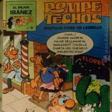 Cómics: ROMPE TECHOS MIOPILLO COMO UN LADRILLO, EL MEJOR IBAÑEZ N 6 1999. Lote 35472721