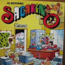 Comics: EL BOTONES SACARINO. EDITA SPERRY. 1984. 16 PÁGS. (COMO NUEVO). Lote 49180352
