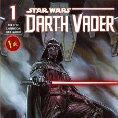 Cómics: STAR WARS DARTH VADER NÚMERO 1 (CÓMICS STAR WARS) CÓMIC GUERRA DE LAS GALAXIAS. Lote 49181841