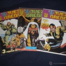 Cómics: TEBEO COMIC EDICIONES MC Nº 13, 14 Y 15 JUDGE DREDD.. Lote 49251899