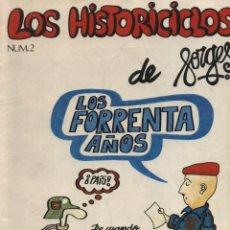 Cómics: LOS HISTORICICLOS Nº 2. FORGES.. Lote 49266888