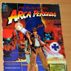Cómics: INDIANA JONES - EN BUSCA DEL ARCA PERDIDA - EDICIONES RECREATIVAS / CINE-COMIC 1981. Lote 49273791