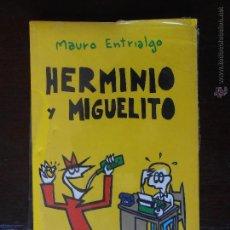 Cómics: HERMINIO Y MIGUELITO - 1 - MAURO ENTRIALGO - TEATRO - NUEVO (S). Lote 49288449