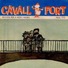 Cómics: CAVALL FORT. REVISTA PER A NOIS I NOIES. NUM. 773. 1994 [CAT]. Lote 49340249