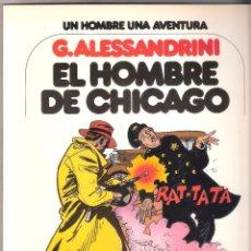 Cómics: UN HOMBRE UNA AVENTURA Nº 3-EL HOMBRE DE CHICAGO.. Lote 49357375