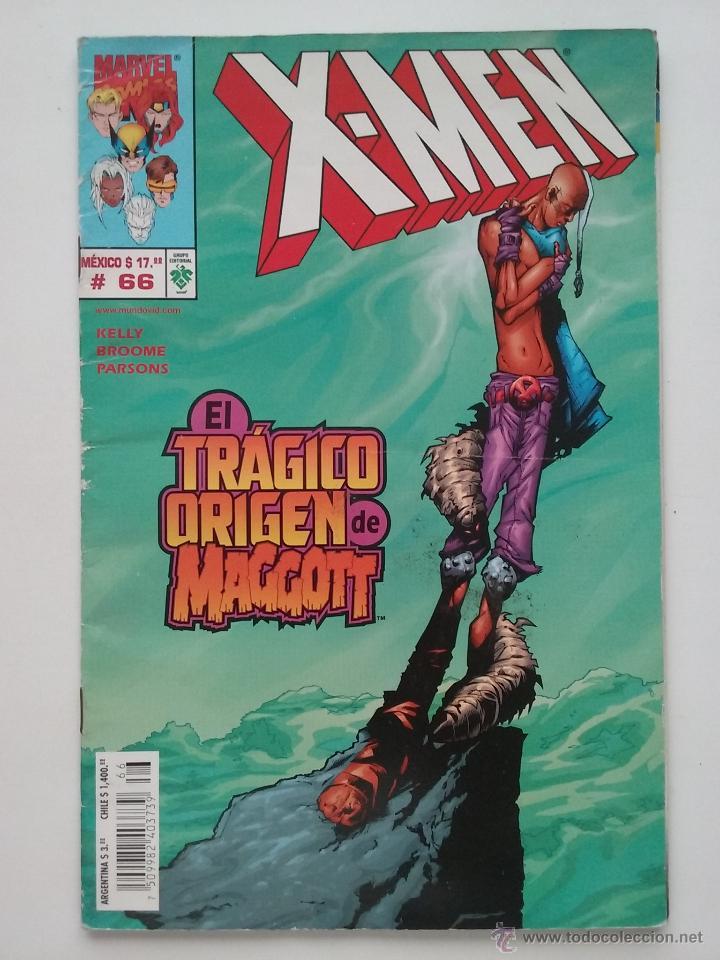 X-MEN Nº 66 - EL TRAGICO ORIGEN DE MAGGOTT - MARVEL COMICS - ARGENTINA (Tebeos y Comics - Comics otras Editoriales Actuales)