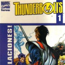 Cómics: THUNDERBOLTS - COLECCION COMPLETA 11 NÚMEROS - FORUM - CJ198. Lote 49401641