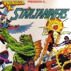 Cómics: LA PATRULLA X PRESENTA A STARJAMMERS - FORUM - CJ198. Lote 49401966