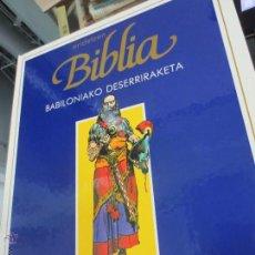 Cómics: BABILONIAKO DESERRIRAKETA Nº 5 ERIDETZEN BIBLIA EDIT PLAZA&JANÉS AÑO 1985. Lote 49458891