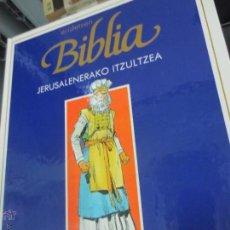 Cómics: JERUSALENERAKO ITZULTZEA Nº 6 ERIDETZEN BIBLIA EDIT PLAZA&JANÉS AÑO 1985. Lote 49458968