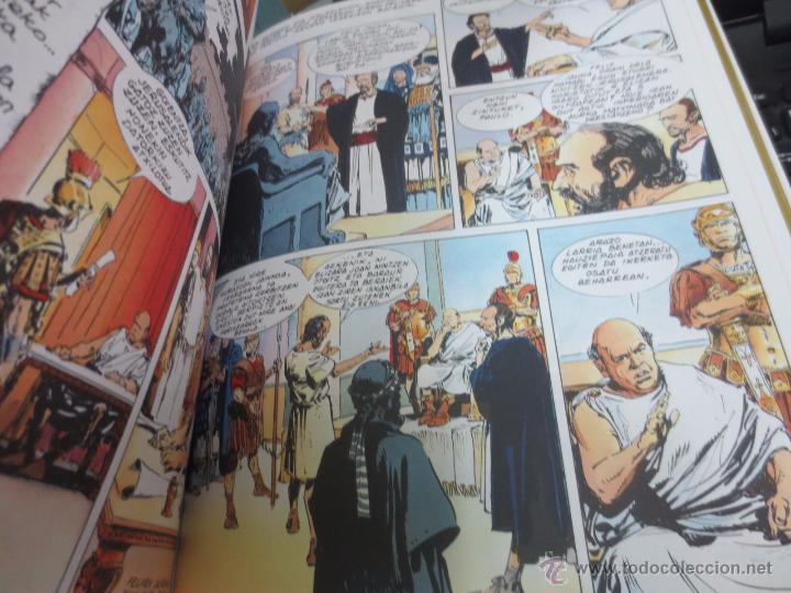 Cómics: ELIZAREN JAIOTZEA Nº 2 ERIDETZEN BIBLIA EDIT PLAZA&JANÉS AÑO 1985 - Foto 2 - 49459054