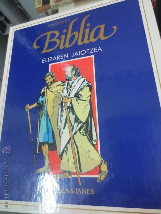 ELIZAREN JAIOTZEA Nº 2 ERIDETZEN BIBLIA EDIT PLAZA&JANÉS AÑO 1985 (Tebeos y Comics - Comics otras Editoriales Actuales)