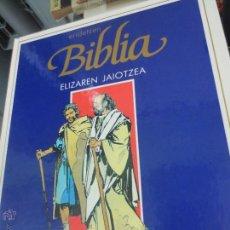Cómics: ELIZAREN JAIOTZEA Nº 2 ERIDETZEN BIBLIA EDIT PLAZA&JANÉS AÑO 1985. Lote 49459054