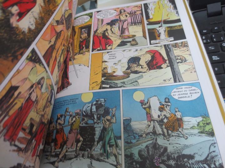 Cómics: MOISES. JOSUE. EPAILEAK ERIDETZEN BIBLIA EDIT PLAZA&JANÉS AÑO 1985 - Foto 2 - 49459111