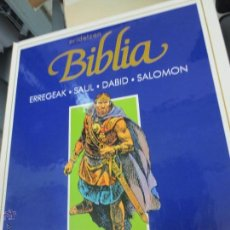 Cómics: ERREGEAK. SOUL. DABID. SALOMON Nº 3 ERIDETZEN BIBLIA EDIT PLAZA&JANÉS AÑO 1985. Lote 49459196