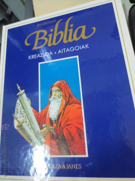 KREAZIOA. AITAGOIAK ERIDETZEN BIBLIA EDIT PLAZA&JANÉS AÑO 1985 (Tebeos y Comics - Comics otras Editoriales Actuales)