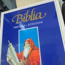 Cómics: KREAZIOA. AITAGOIAK ERIDETZEN BIBLIA EDIT PLAZA&JANÉS AÑO 1985. Lote 49459254