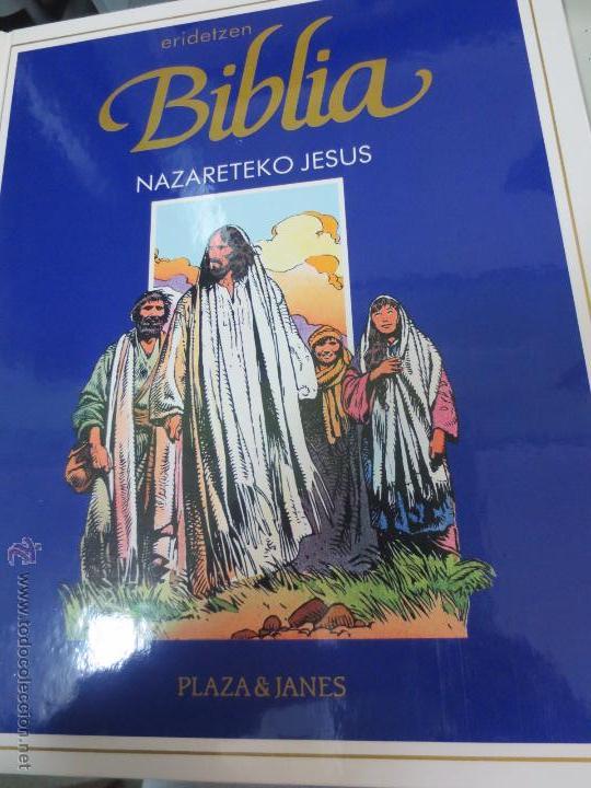 NAZARETEKO JESUS Nº 1 ERIDETZEN BIBLIA EDIT PLAZA&JANÉS AÑO 1985 (Tebeos y Comics - Comics otras Editoriales Actuales)