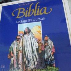 Cómics: NAZARETEKO JESUS Nº 1 ERIDETZEN BIBLIA EDIT PLAZA&JANÉS AÑO 1985. Lote 49459315