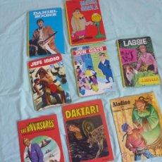 Cómics: LASSIE, DON GATO ,MAGUILA GORILA ,LOTE 8 TEBEOS ESPAÑOLES ..EDITORIAL FHER Y LAIDA..VALLELIOS. Lote 49577927