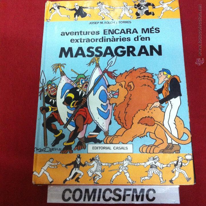 EDITORIAL CASAS - MASSAGRAN - AVENTURES ENCARA MES EXTRAORDINARIES D'EN (Tebeos y Comics Pendientes de Clasificar)