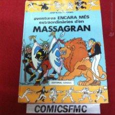 Cómics: EDITORIAL CASAS - MASSAGRAN - AVENTURES ENCARA MES EXTRAORDINARIES D'EN. Lote 49578559