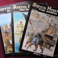 Cómics: SERIE JUSTIN HIRIART COMPLETA 3 EJEMPLARES FRUCTUOSO Y HARRIET, EDICIONES TTARTTALO TEBENI 1983 MBE. Lote 49601522