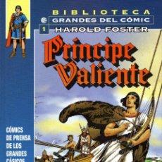 Cómics: PRINCIPE VALIENTE BY HAROLD FOSTER 1937-38 KFS VOL.1 ED.PLANETA 2006 TAPA DURA. Lote 49607987