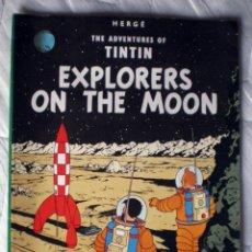 Cómics: TINTIN EXPLORERS ON THE MOON DE HERGÉ Nº 13 EDIC. DEL PRADO INGLÉS 1984 FORMATO EXTRA GRANDE NUEVO. Lote 49744909