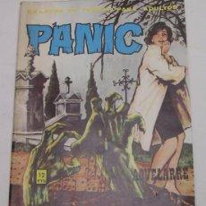 Cómics: PÁNICO - RELATOS DE TERROR PARA ADULTOS - AQUELARRE Y OTROS - VILMAR - 1973 - B. ESTADO. Lote 49761068