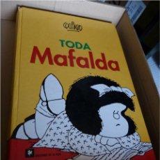 Cómics: TODA MAFALDA - QUINO (LIBRO EN GRAN FORMATO: 32X22 CM, TAPA DURA) 1997. Lote 49824290